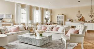 Provensálský styl bydlení, konferenční stolky