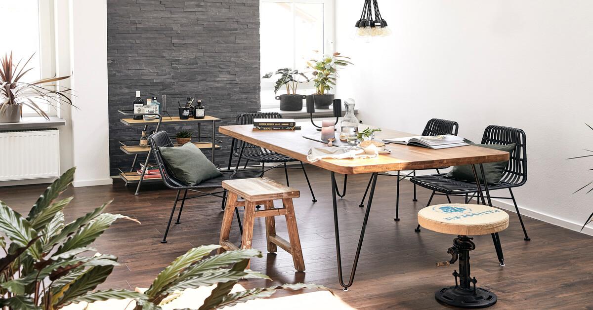 Rustikální styl bydlení, rustikální nábytek