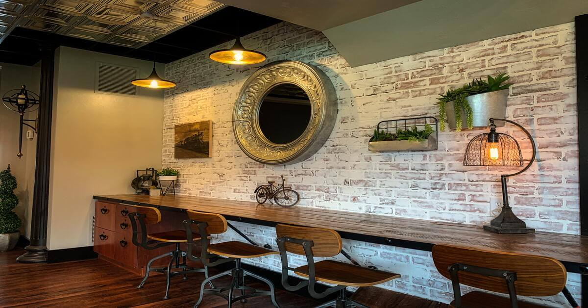 Industriální styl bydlení, industriální nábytek